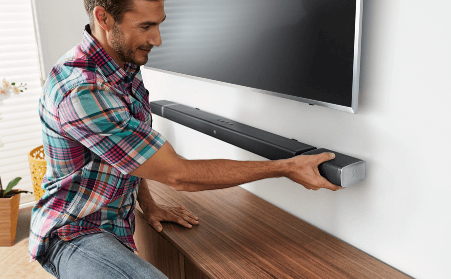 Soundbar mounting
